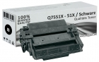 Alternativ HP Toner 51X Q7551A Q7551X Schwarz