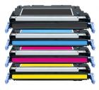 Alternativ Toner Sparset HP 314A Q7560A+Q7561A+Q7562A+Q7563A