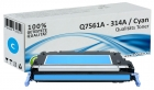 Alternativ HP Toner 314A Q7561A Cyan