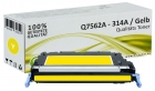 Alternativ HP Toner 314A Q7562A Gelb