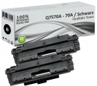 Sparset 2x Alternativ HP Toner Q7570 / 70A Schwarz