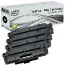 Sparset 4x Alternativ HP Toner Q7570 / 70A Schwarz