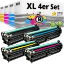 Alternativ HP Toner Set 307A CE740A CE741A CE742A CE743A