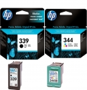 Original HP Patronen 339 + 344 Multipack