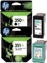 Original HP Patronen 350XL + 351XL Multipack