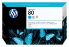 Original HP Patronen 80 C4872A Cyan