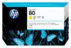 Original HP Patronen 80 C4848A Gelb