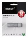 Intenso Alu Line USB Stick 2.0 8 GB Silber