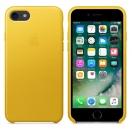 Apple iPhone 7 / 8 Leder Case - Sonnenblume