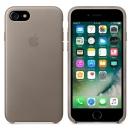 Apple iPhone 7 / 8 Leder Case - Taupe