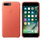 Apple iPhone 7 Plus / 8 Plus Leder Case - Geranium