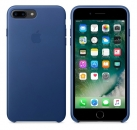 Apple iPhone 7 Plus / 8 Plus Leder Case - Saphir