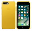 Apple iPhone 7 Plus / 8 Plus Leder Case - Sonnenblume