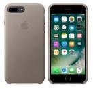 Apple iPhone 7 Plus / 8 Plus Leder Case - Taupe