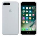 Apple iPhone 7 Plus / 8 Plus Silikon Case - Nebelblau