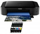 Canon PIXMA IP 8750 Drucker inkl. 6 XL Patronen + Fotopapier