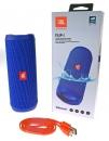 JBL Flip 4 - Bluetooth-Lautsprecher - Blau