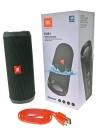 JBL Flip 4 - Bluetooth-Lautsprecher - Schwarz