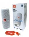 JBL Flip 4 - Bluetooth-Lautsprecher - Weiss