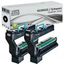 2x Alternativ Konica Toner QMS 5430 5440 5450 Schwarz