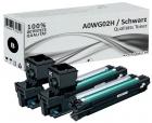 Alternativ Konica Toner A0WG02H Schwarz Doppelpack