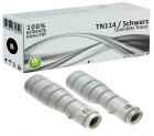 Alternativ Konica Minolta Toner TN-114 8937784 Schwarz