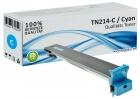 Alternativ Konica Minolta Toner TN-214C A0D7454 Cyan