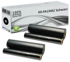 2x Alternativ Panasonic Thermo-Transfer-Rolle KX-FA134X