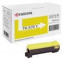 Original Kyocera Toner TK-570Y Gelb