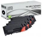 Set 4x Alternativ Kyocera Toner TK-100 Schwarz