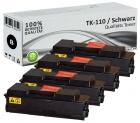 Alternativ Kyocera Toner TK-110 Schwarz 4er Sparset