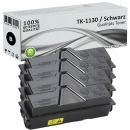 Set 4x Alternativ Kyocera Toner TK-1130 Schwarz