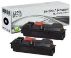 Alternativ Kyocera Toner TK-120 Schwarz Doppelpack