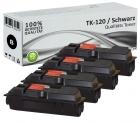Alternativ Kyocera Toner TK-120 Schwarz 4er Sparset