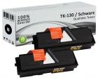 Alternativ Kyocera Toner TK-130 Schwarz Doppelpack