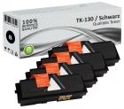 Alternativ Kyocera Toner TK-130 Schwarz 4er Sparset