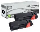 Alternativ Kyocera Toner TK-18 Schwarz Doppelpack