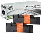 Alternativ Kyocera Toner TK-310 Schwarz Doppelpack