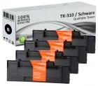 Alternativ Kyocera Toner TK-310 Schwarz 4er Sparset