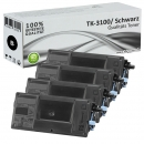Set 4x Alternativ Kyocera Toner TK-3100