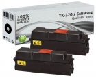 Alternativ Kyocera Toner TK-320 Schwarz Doppelpack
