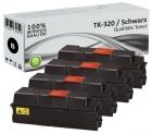 Alternativ Kyocera Toner TK-320 Schwarz 4er Sparset
