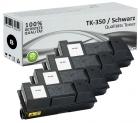 Alternativ Kyocera Toner TK-350 Schwarz 4er Sparset