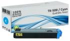 Alternativ Kyocera Toner TK-500C Cyan