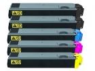 5x Alternativ Kyocera Toner TK-510 Set