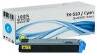 Alternativ Kyocera Toner TK-510C Cyan