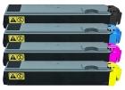 Alternativ Toner Set Kyocera TK-520K TK-520C TK-520M TK-520Y