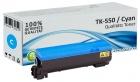 Alternativ Kyocera Toner TK-550C Cyan