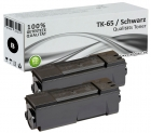 Set 2x Alternativ Kyocera Toner TK-65 Schwarz
