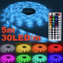 LED Strip Band Streifen 5m 30 LED/m RGB SMD-5050